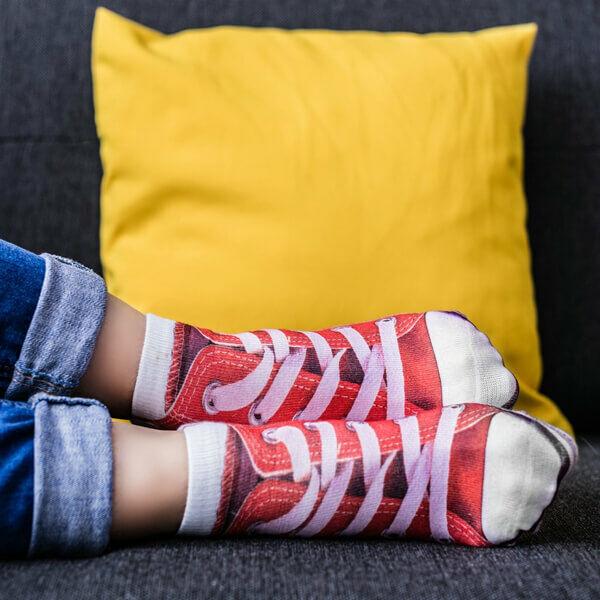 Sportcipő zokni ideális ajándék férfiaknak