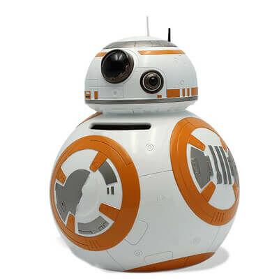 Eredeti Star Wars ajándék egy BB-8 persely