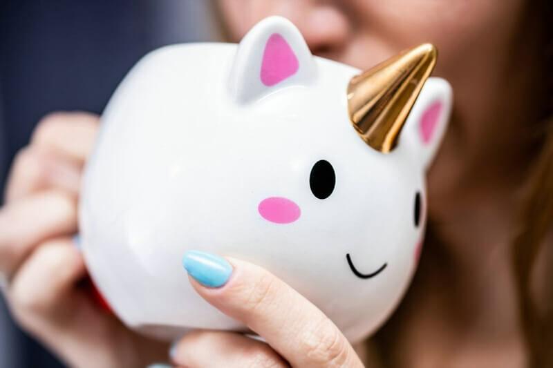 Unikornis bögre cuki ajándék ötlet nőknek
